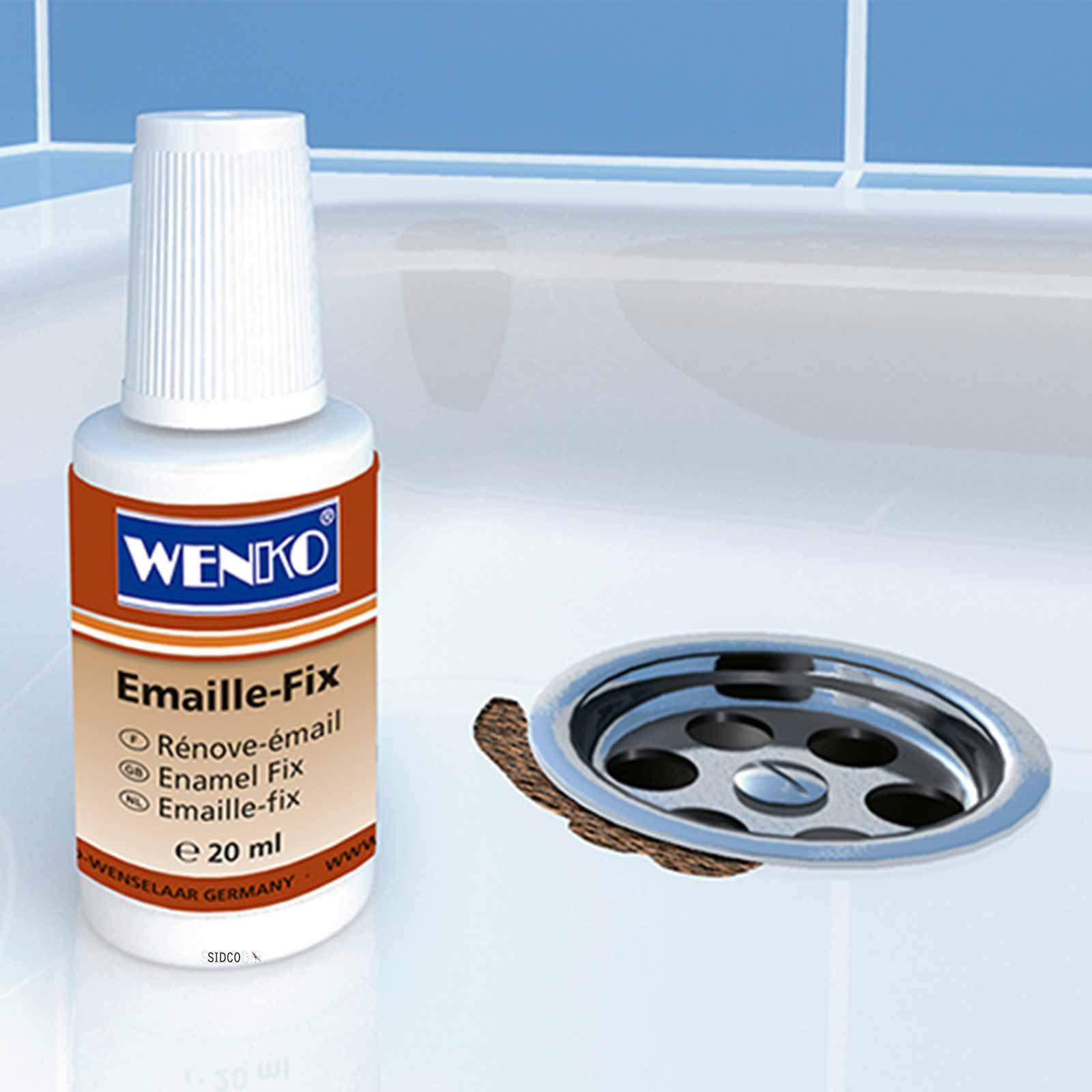 reparaturlack wei f r waschbecken oder badewanne emaille. Black Bedroom Furniture Sets. Home Design Ideas