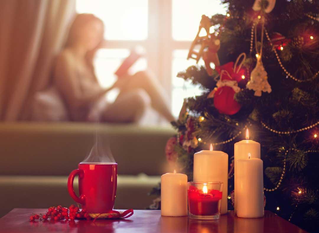 Weihnachten allein