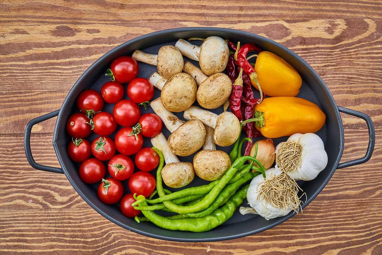 Ofengemüse Gemüsereste