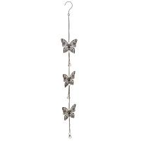 Dekohänger Rost Schmetterling