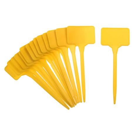 Pflanzenschilder gelb