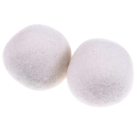 Trocknerbälle Wolle 2er