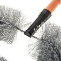 Staubwedel Staubwischer Staubbiene mit Teleskopstiel Staubbesen Spinnwebenbesen