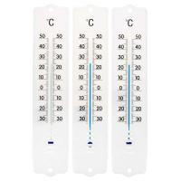 Thermometer weiß 3er Set