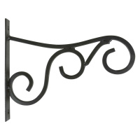 Wandhalterung Metall schwarz L