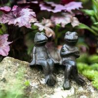 4 Kantenhocker Frosch