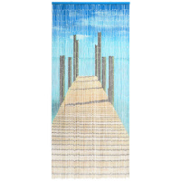 Bambusvorhang Steg