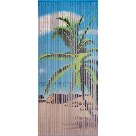 Bambusvorhang Palme