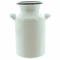 Milchkanne Emaille