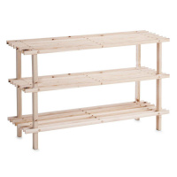 Schuhregal Holz 3 Fächer