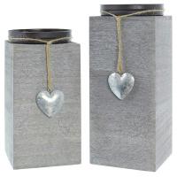 Kerzenhalter Little Heart 2er Set