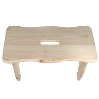 Fußbank Holz