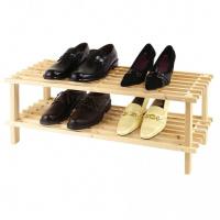 Schuhregal Holz 2 Fächer