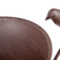 Vogeltränke Vogebad mit Rankhilfe