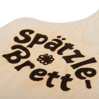 Spätzlebrett Holz mit Schaber
