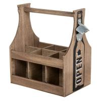 Flaschenträger mit Öffner