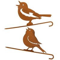 Baumstecker Vögelchen 2er Set