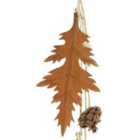 Hänger Herbstblätter Metall 4er Set