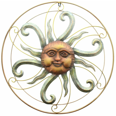 Wandhänger Sonne