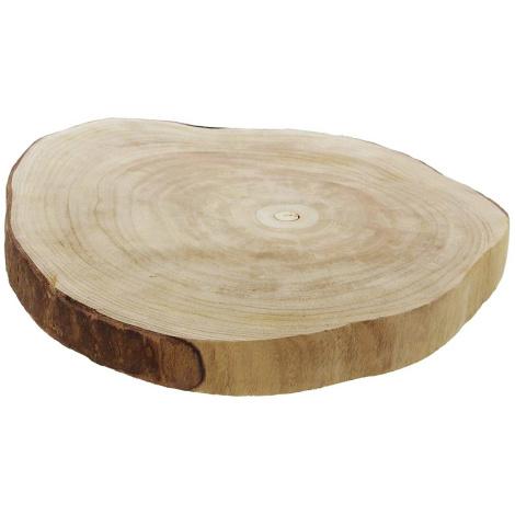 Dekoscheibe Wood