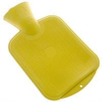 Wärmflasche 0,8 l gelb