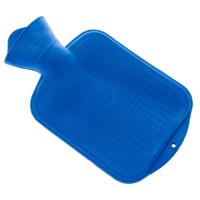 Wärmflasche 0,8 l blau