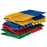 40 Wäscheklammern Kunststoff