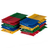 80 Wäscheklammern Kunststoff
