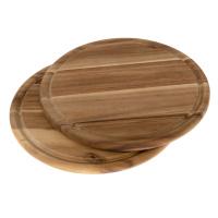 Brotzeitbrett Akazie Ø 25 cm