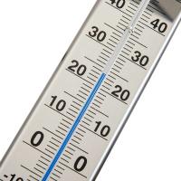 Gartenthermometer Edelstahl