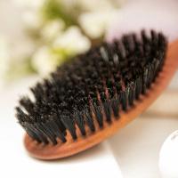 Haarbürste Birnbaumholz 10 Reihen
