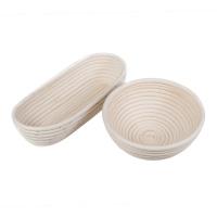 Gärkorb Peddigrohr rund oder oval  0,5 kg - 1,5 kg