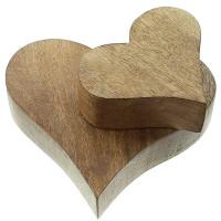 Deko-Herz Liebessturm 2er