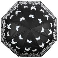 Regenschirm Farbwelchsel Vögel