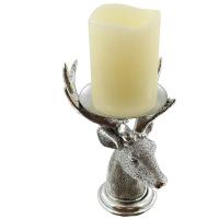 Kerzenhalter Hirsch