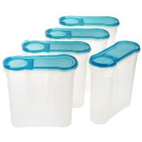 5 Schüttdosen 2 Liter blau