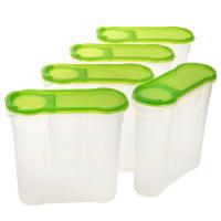 5 Schüttdosen 2 Liter grün