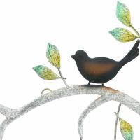 Wanddeko Ast mit Vögeln