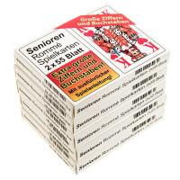 Rommé Spielkarten für Senioren Auswahl