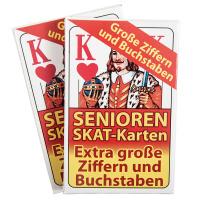 Skat Spielkarten für Senioren Auswahl