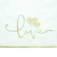 Tischläufer Love 40x140cm
