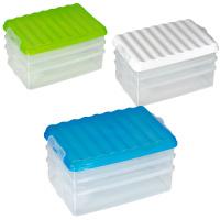 Stapelbare Frischhaltebox für Aufschnitte