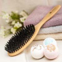 Haarbürste Buche 10 Reihen